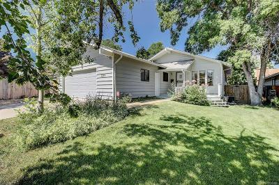 Denver Single Family Home Active: 1321 South Dahlia Street
