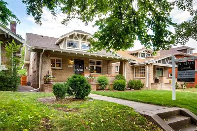 Denver Single Family Home Under Contract: 636 Josephine Street