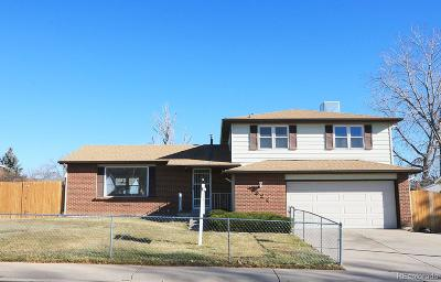 Morrison Single Family Home Sold: 4324 South Cole Court