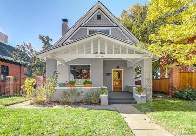 Denver Single Family Home Active: 909 South Clarkson Street