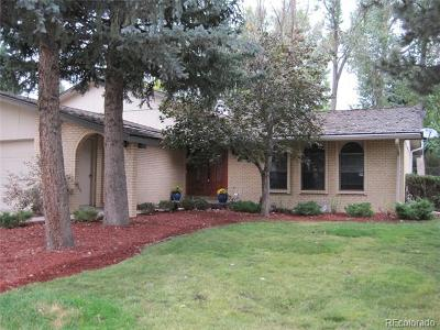 Centennial Single Family Home Active: 7169 East Heritage Place