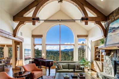 Evergreen Single Family Home Active: 2889 Highlands View Road