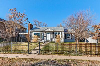 Single Family Home Active: 2641 South Pennsylvania Street