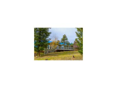 Conifer Single Family Home Under Contract: 28550 Mountain View Road
