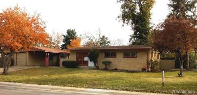 Arvada Single Family Home Active: 9300 Ridge Road