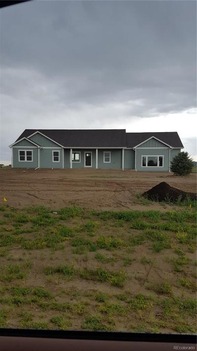 Byers CO Single Family Home Under Contract: $419,900