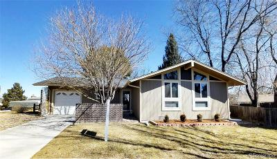 Broomfield Single Family Home Under Contract: 10 Ponderosa Place