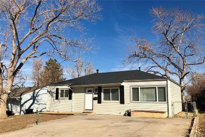 Denver Single Family Home Active: 1828 South Meade Street