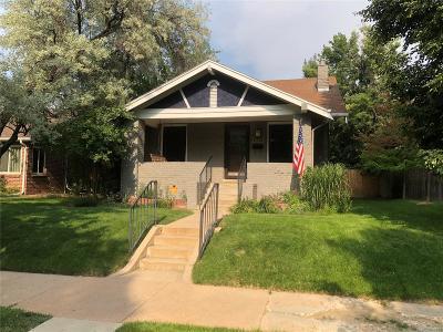 Denver Single Family Home Under Contract: 1638 Poplar Street