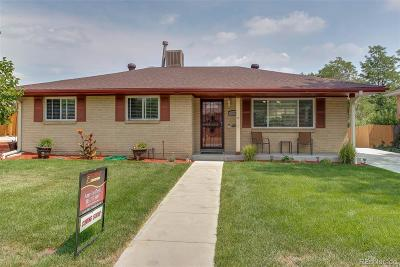 Arvada Single Family Home Under Contract: 6182 Brentwood Street