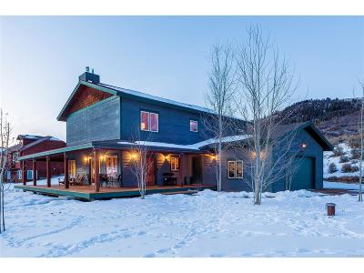 Routt County Single Family Home Active: 22644 Commanche Road