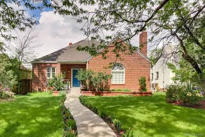 Denver Single Family Home Under Contract: 1323 Monaco Parkway