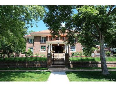 Denver Single Family Home Active: 2315 East 7th Avenue Parkway