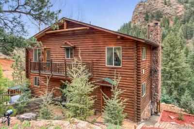 Manitou Springs Single Family Home Under Contract: 1425 Sutherland Creek Road