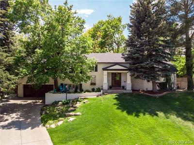 Denver Single Family Home Active: 575 South Harrison Lane