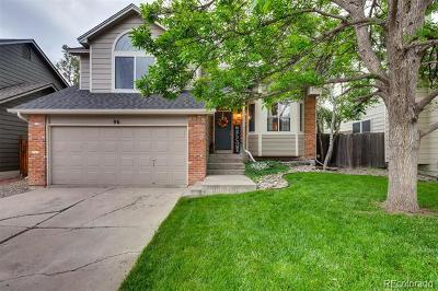 Castle Rock Single Family Home Under Contract: 96 South Lindsey Street