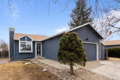 Longmont Single Family Home Active: 2160 Tulip Street