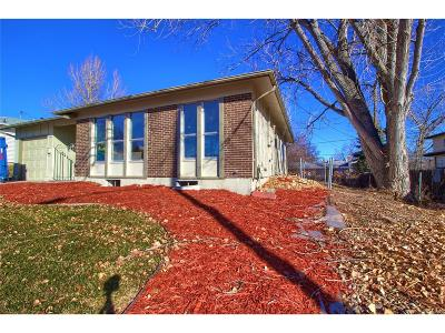 Northglenn Single Family Home Active: 543 Kennedy Drive