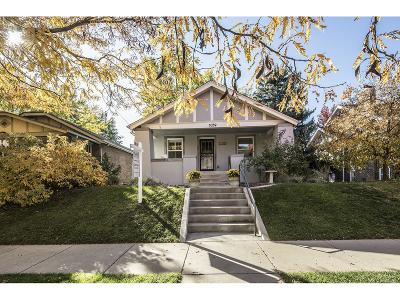 Denver Single Family Home Active: 1059 South Corona Street