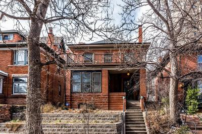 Denver Single Family Home Under Contract: 1147 Vine Street