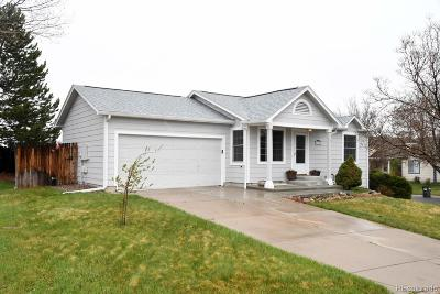 Castle Rock Single Family Home Under Contract: 5365 Willow Court