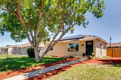 Denver Single Family Home Under Contract: 3640 Pontiac Street