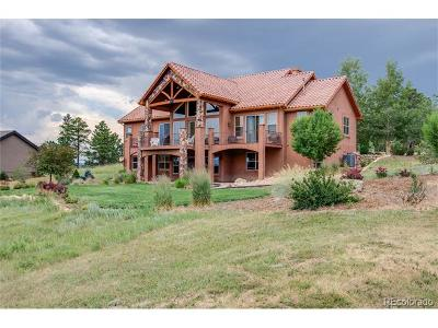 Colorado Springs Single Family Home Under Contract: 17895 Pioneer Crossing