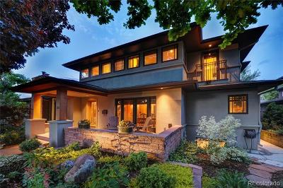 Boulder Single Family Home Active: 770 Lincoln Place