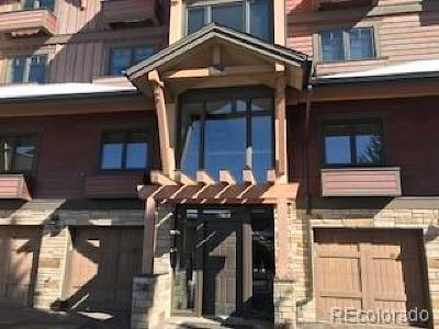 Steamboat Springs Condo/Townhouse Under Contract: 2355 Apres Ski Way #103