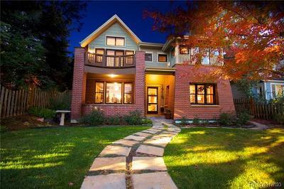Boulder Single Family Home Active: 1719 Mapleton Avenue