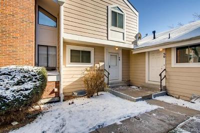 Arvada Condo/Townhouse Under Contract: 6625 West 84th Circle #49