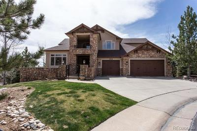 Castle Pines Single Family Home Active: 1038 Buffalo Ridge Way