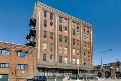 Denver Condo/Townhouse Active: 2261 Blake Street #3C