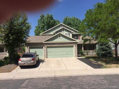 Commerce City Single Family Home Under Contract: 11321 Oswego Street