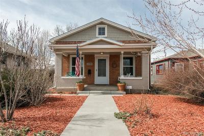 Denver Single Family Home Active: 2233 South Bannock Street