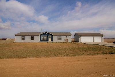 Keenesburg Single Family Home Under Contract: 32269 County Road 8