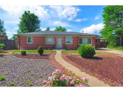 Wheat Ridge CO Single Family Home Active: $329,000