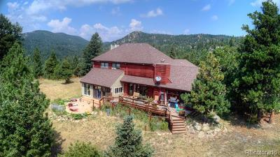 Boulder Single Family Home Active: 6894 Flagstaff Road