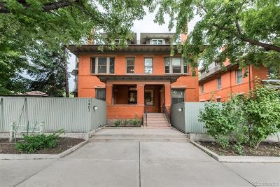 Denver Condo/Townhouse Active: 1401 North Franklin Street #3