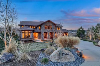 Castle Pines CO Single Family Home Active: $1,695,000