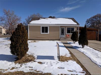 Denver Single Family Home Active: 1830 South Wyandot Street