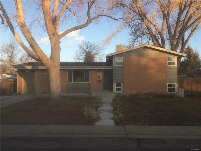 Arvada Single Family Home Under Contract: 6078 Owens Street