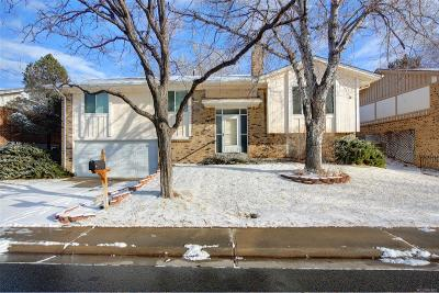 Aurora Single Family Home Active: 3124 South Richfield Street