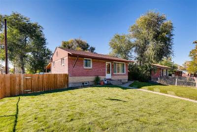 Commerce City Single Family Home Active: 6601 Magnolia Street