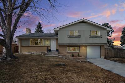 Centennial Single Family Home Active: 6639 South Kit Carson Street