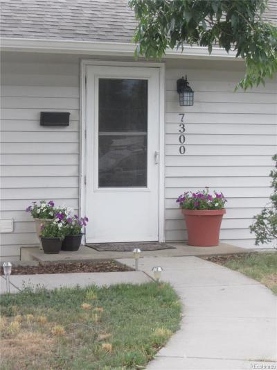 Denver Single Family Home Under Contract: 7300 Granada Road