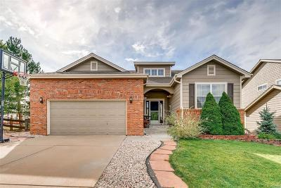 Castle Pines Single Family Home Under Contract: 8186 Briar Cliff Drive