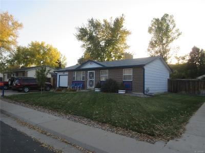 Arvada Single Family Home Under Contract: 7489 Jay Court