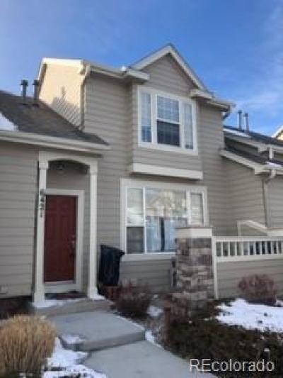 Highlands Ranch Condo/Townhouse Under Contract: 6421 Trailhead Road