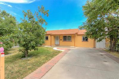 Aurora Single Family Home Active: 1260 Dayton Street